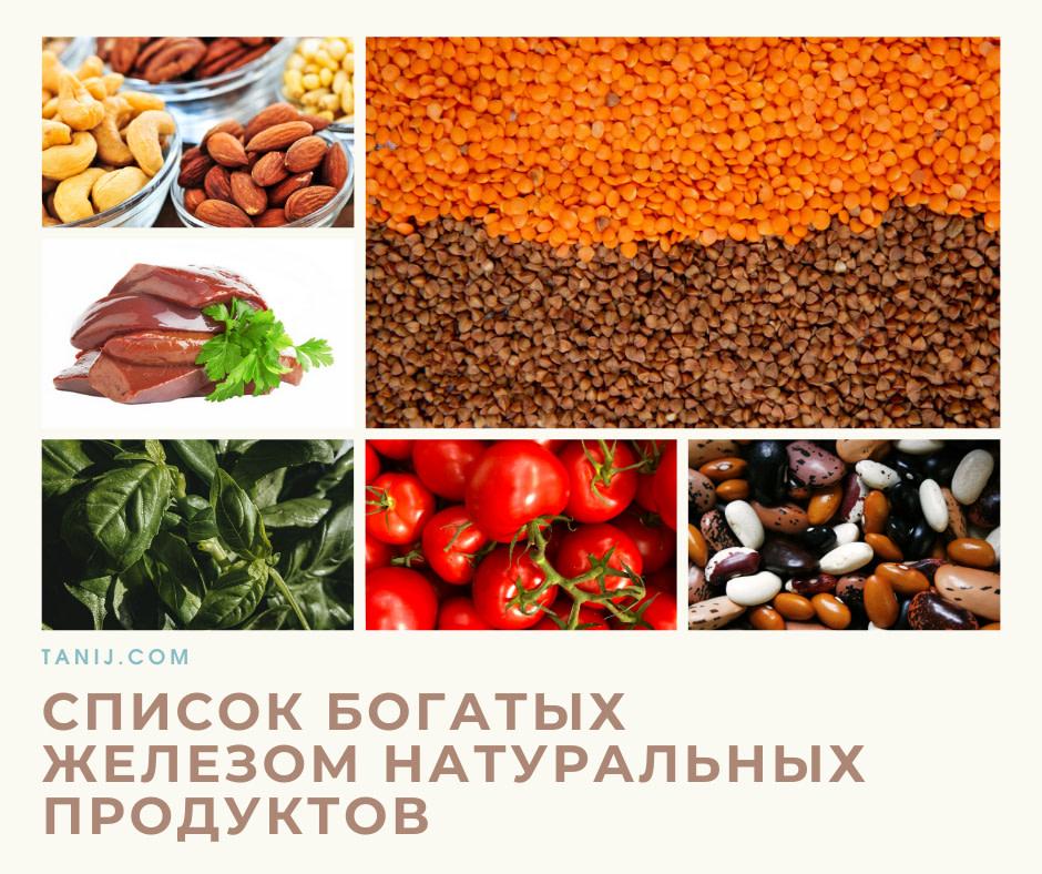 натуральные железосодержащие продукты, диета богатая железом, феррум в пище, рацион, железо, лучшие источники железа на правильном питании и при похудении, для кормящих, беременных, детей, подростков, мужчин, женщин и пожилых
