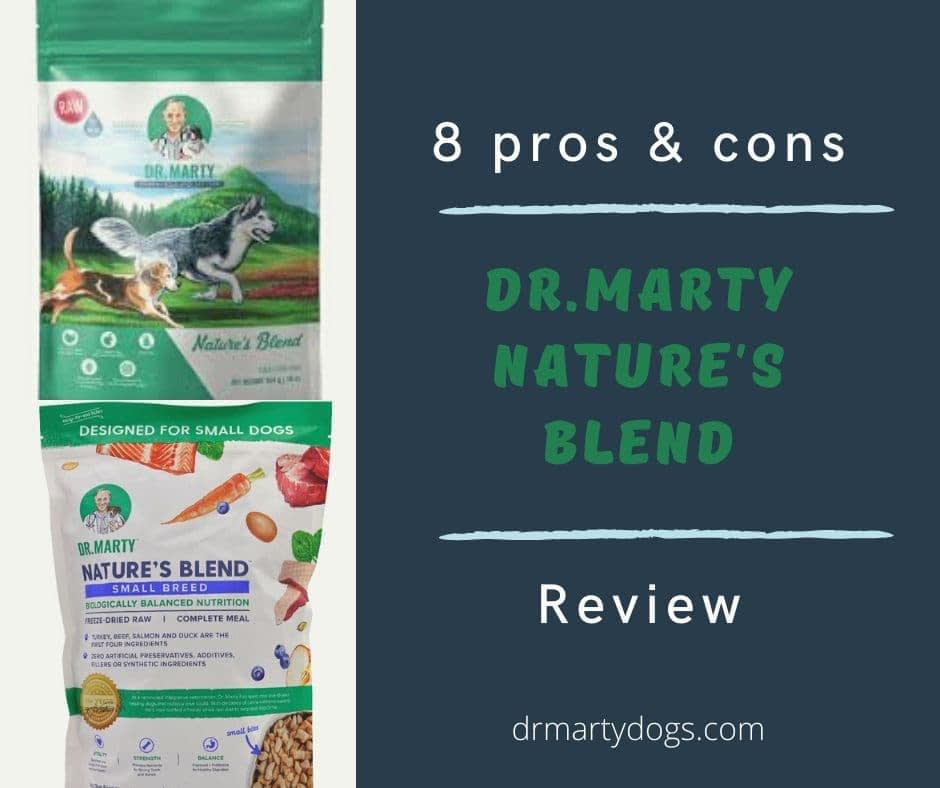 8 pros & cons Dr.Marty Nature's Blend - video, review
